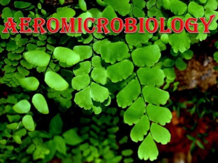 AEROMICROBIOLOGY<br />