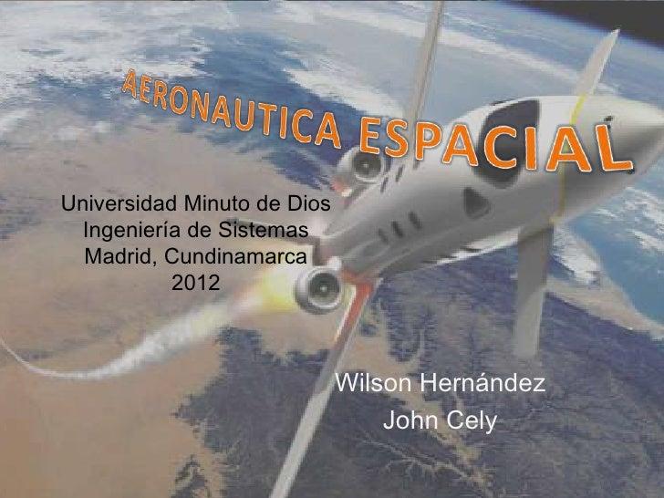 Aeronautica espacial (1)