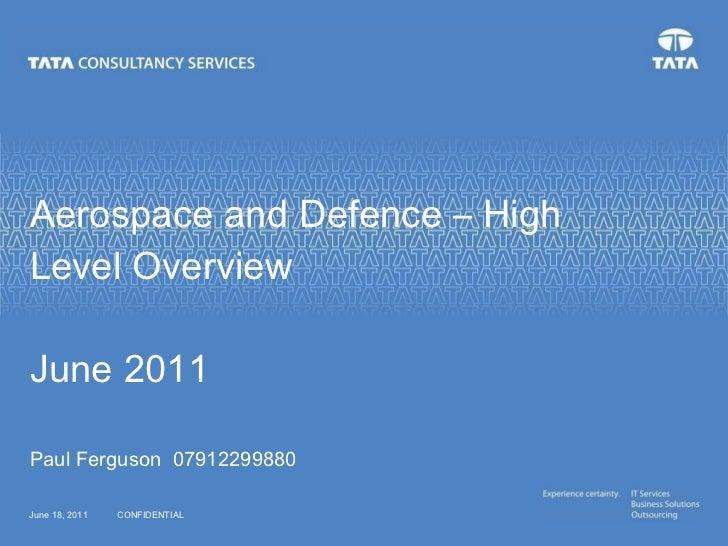 Aerospace Capability Overview
