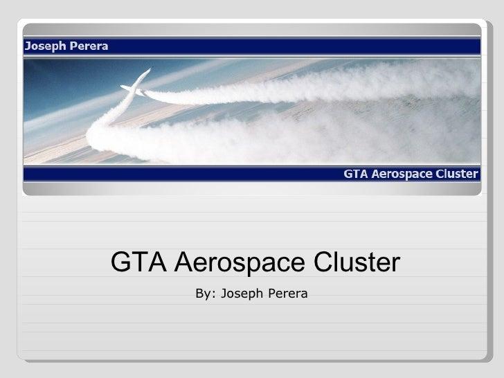 GTA Aerospace Cluster