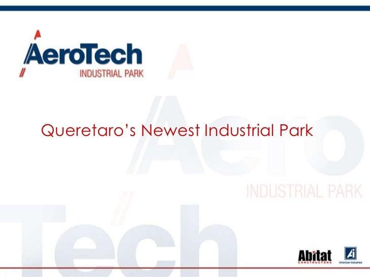 Aerospace  technological park