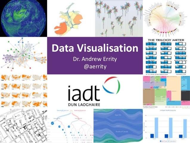Data Visualisation Dr. Andrew Errity @aerrity