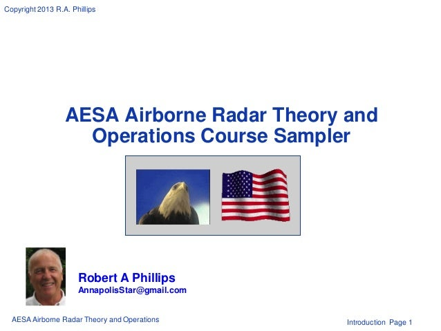 Radar Theory Aesa Airborne Radar Theory