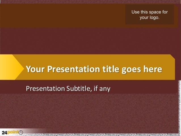 Your Presentation title goes here Presentation Subtitle, if any