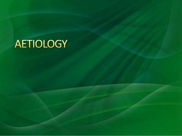 Aetiology of intestinal obstruction