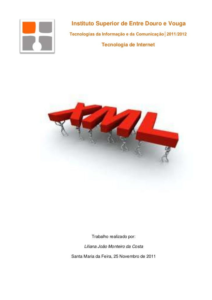 A e xtensible markup language (xml)