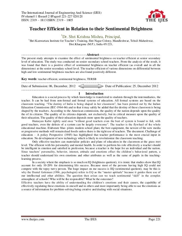 The International Journal of Engineering And Science (IJES)||Volume|| 1 ||Issue|| 2 ||Pages|| 221-227 ||2012||ISSN: 2319 –...