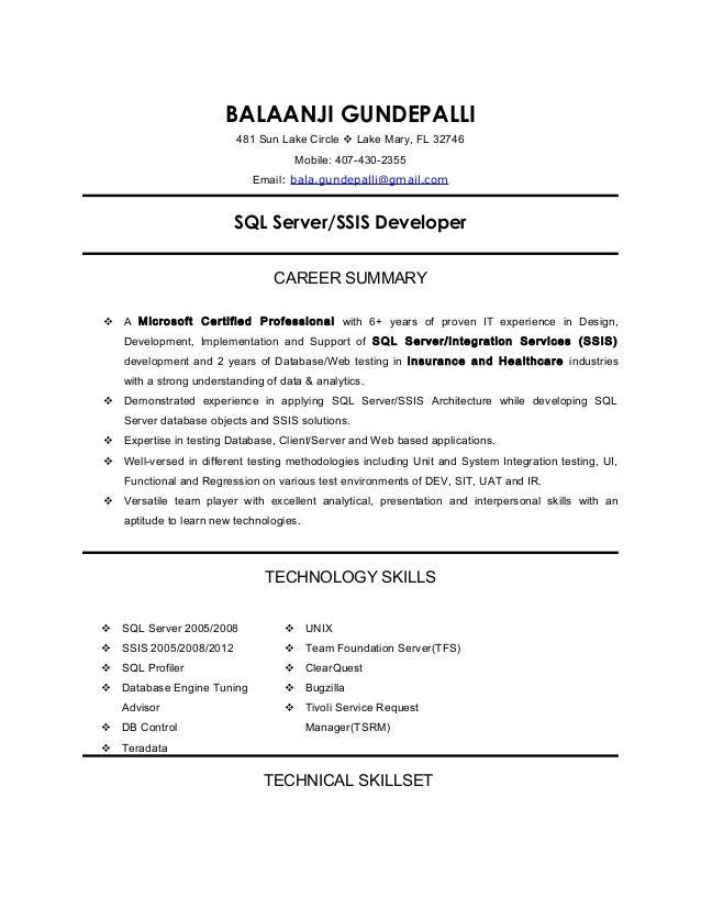balaanji gundepalli sql server ssis