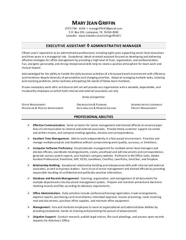 Gymnastics resume