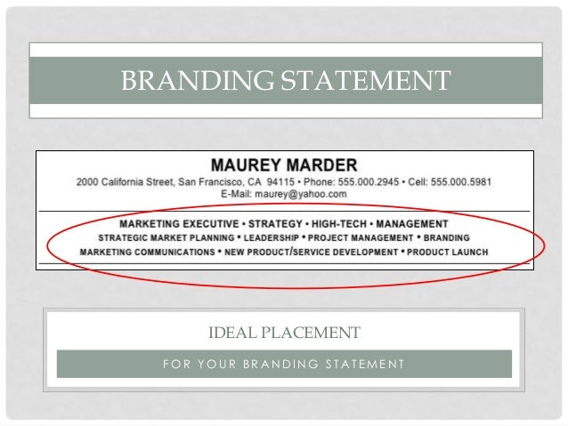 personal branding and your resume_1.7.16_FINAL