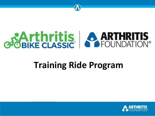 Arthritis Bike Classic Ride Leader Training