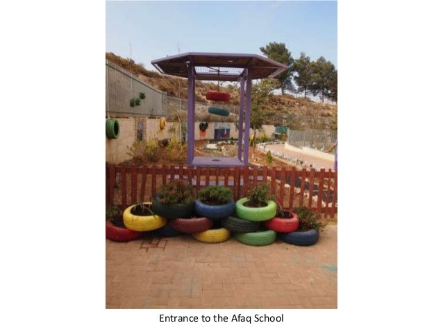 Entrance to the Afaq School