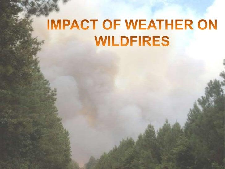 QUIZ – 3 principal environmental factorsthat affect wildland fire behavior?