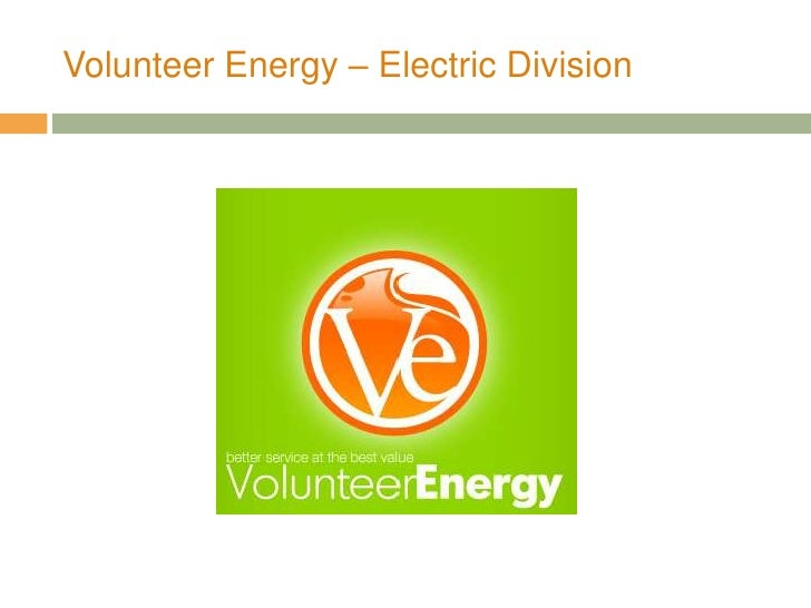 Volunteer Energy – Electric Division<br />