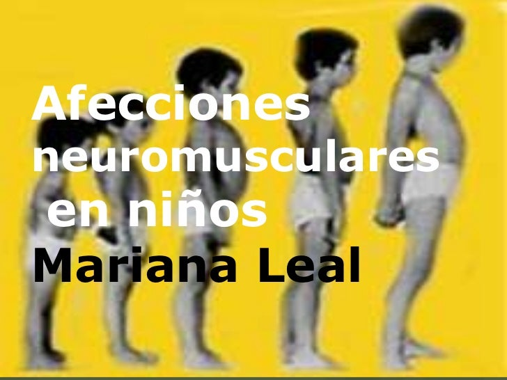 Afecciones neruromusculares