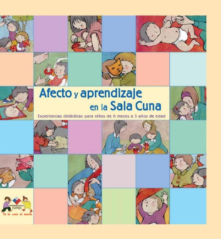 Afecto y aprendizaje    en la Sala CunaExperiencias Didácticas para niños de 6 meses a 3 años de edad