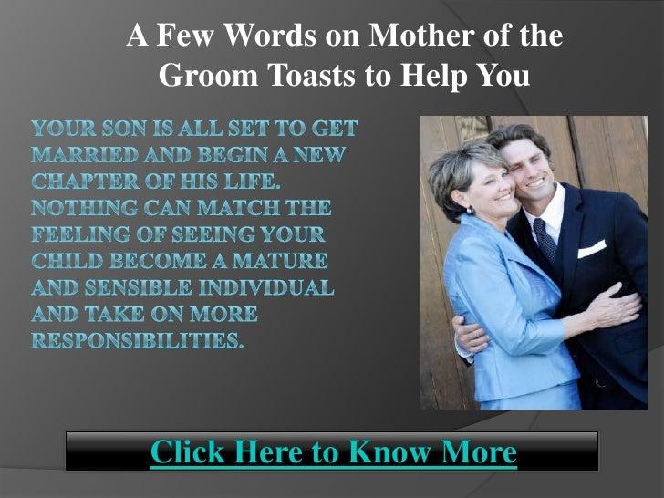 help writing grooms speech