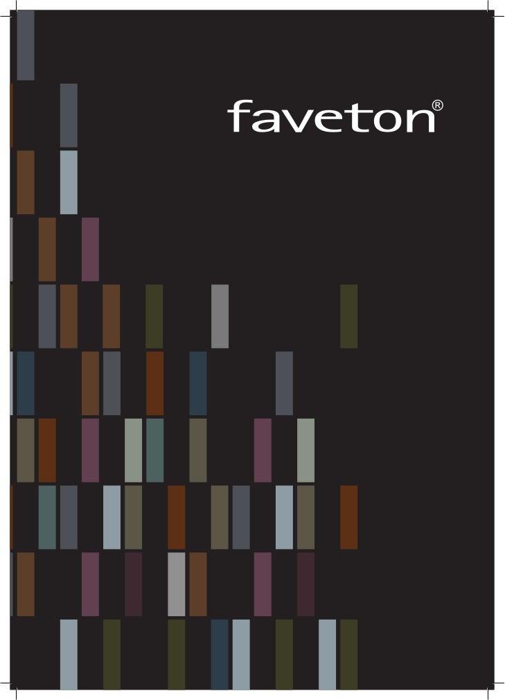 faveton brochure