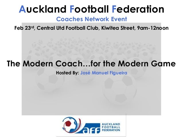 #AFCN: José Figueira (The Modern Coach for The Modern Game)