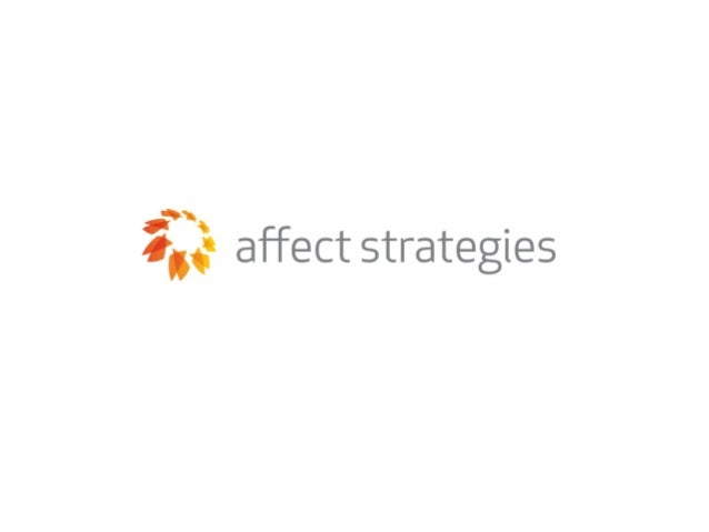 Affect Strategies Affect Strategies   Presented to MSDS, Inc | | April 18, 2008                                         Pres...