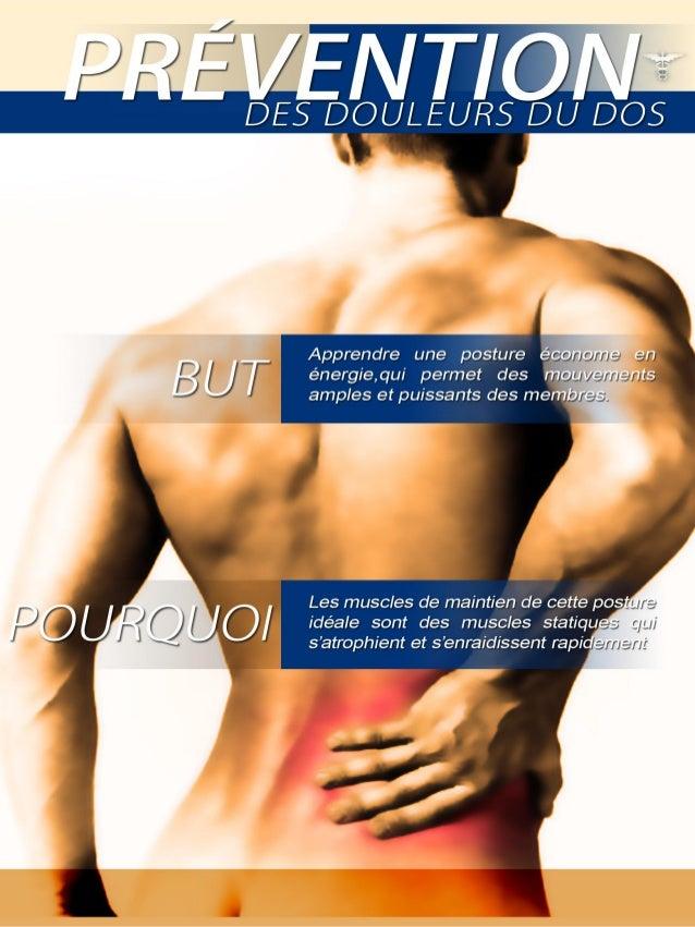 guide prévention lombalgie