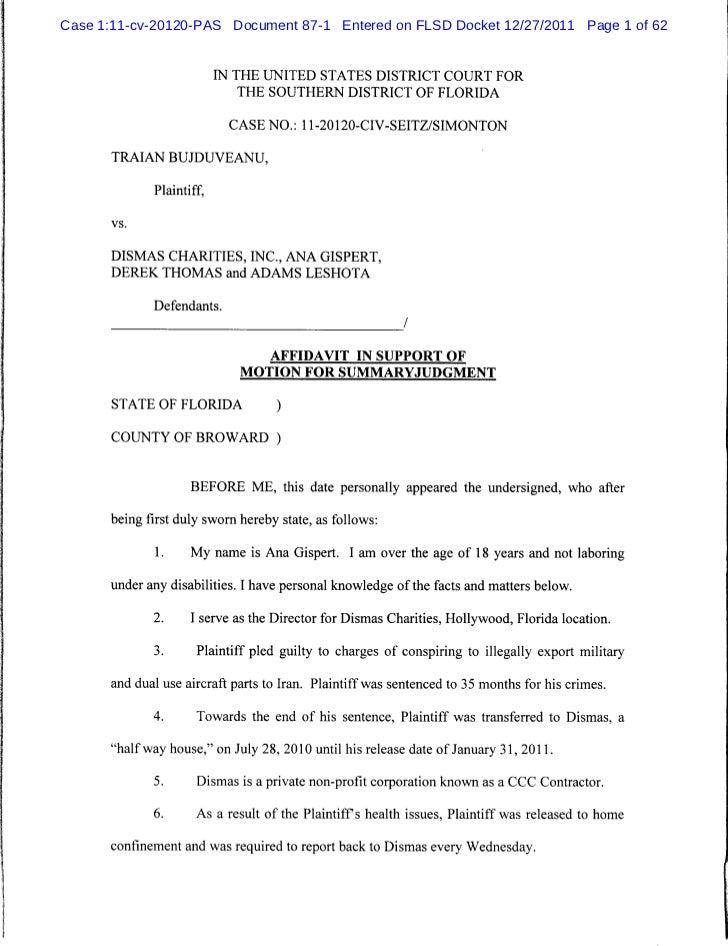 Affidavit Of No Car Insurance Form Miami Fl