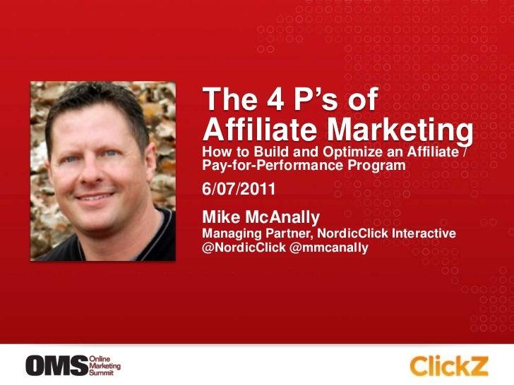 Online Marketing Summit - Minneapolis - Affiliate marketing