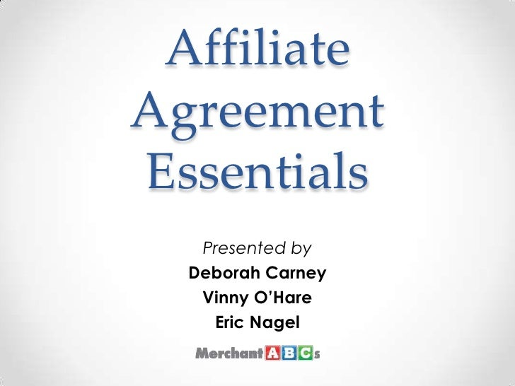 Affiliate Agreement Essentials