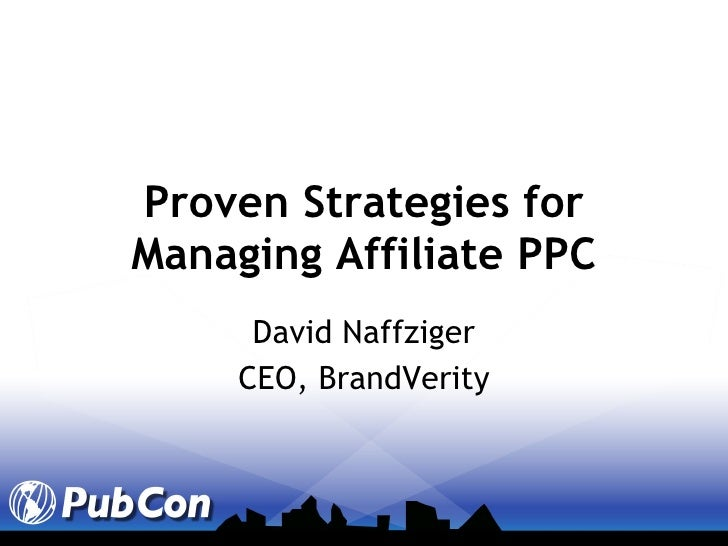 Affiliate based ppc_issues_and_options-david_naffziger