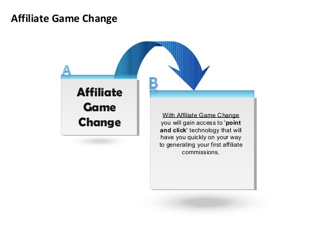 Affiliate Game Change With Affiliate Game Change you will gain access to 'point and click' technology that will have you q...