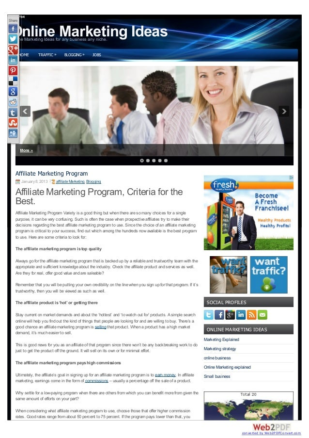 Share Online Marketing Ideas Online Marketing Ideas for any business any niche.        HOME      TRAFFIC »      BLOGGING »...