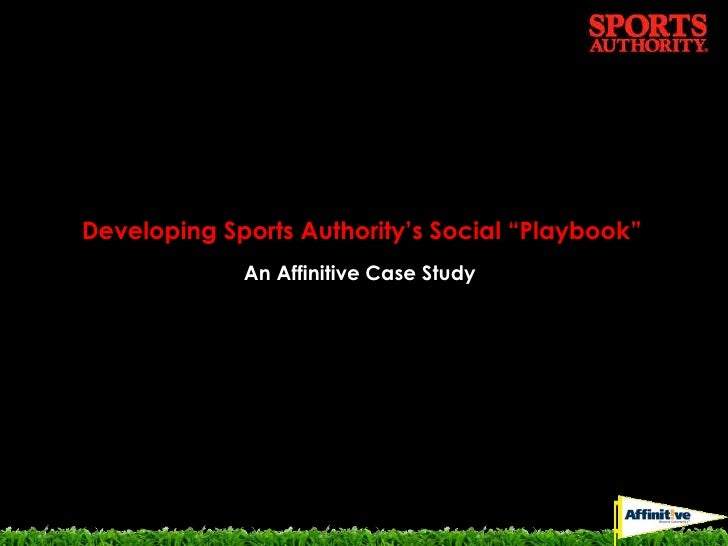 """Developing Sports Authority's Social """"Playbook"""" 