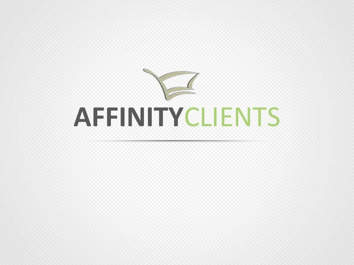 Affinity-Clients