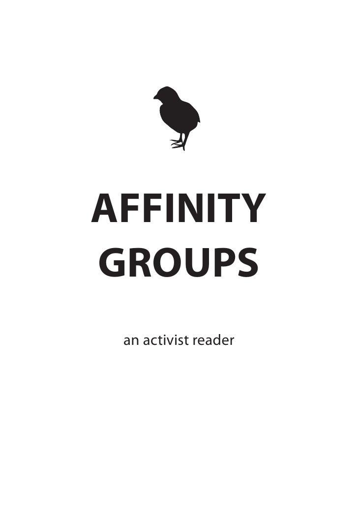Affinity Groups Reader