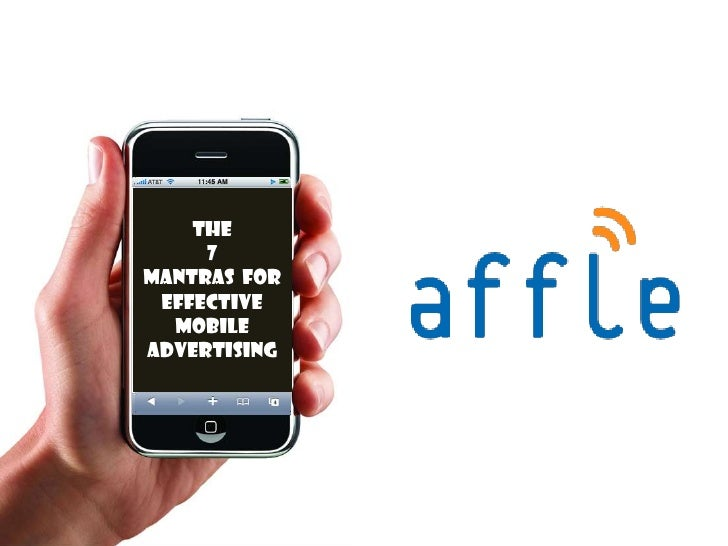 Mobile Advertising -  The Opportunity is TODAY