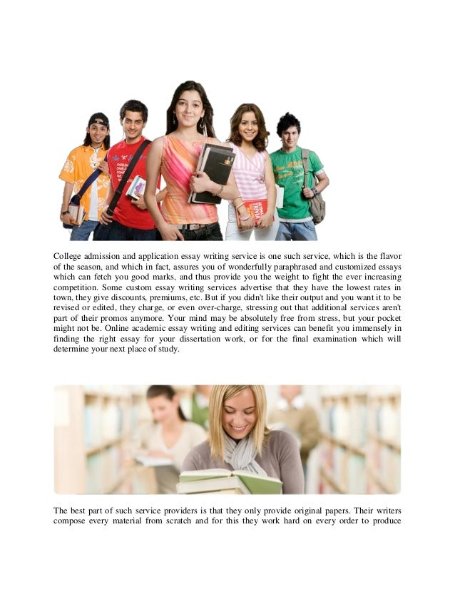 Have you used an essay writing service