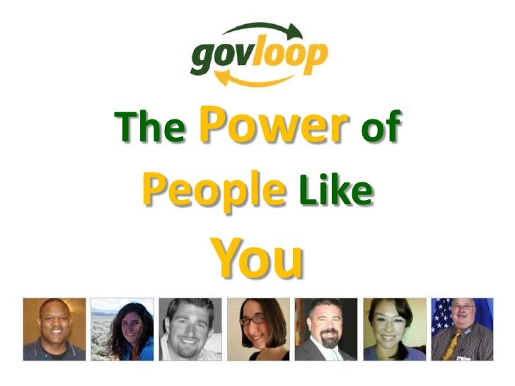 The Powerof People Like You<br />