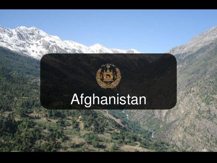 Afghanistan<br />