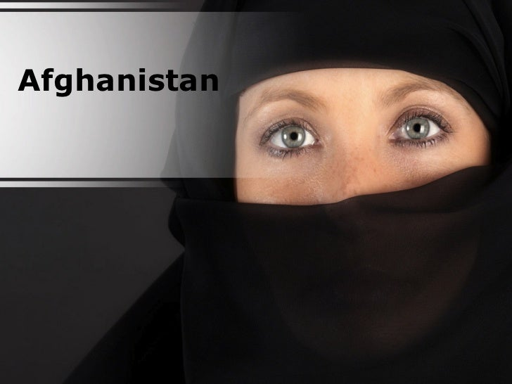 Afghanistan PowerPoint Content