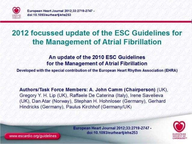 Afib slides-focused-update-2012