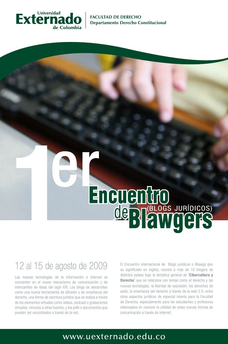 Afiche Encuentro Blawgers