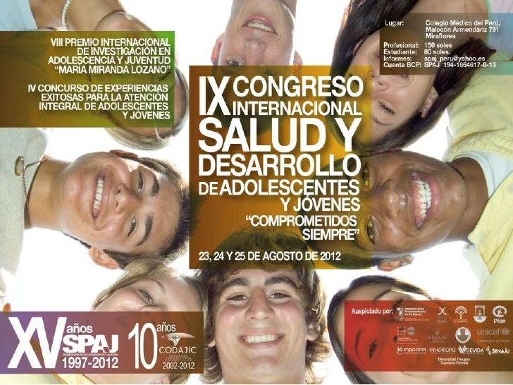 Afiche IX Congreso Internacional de