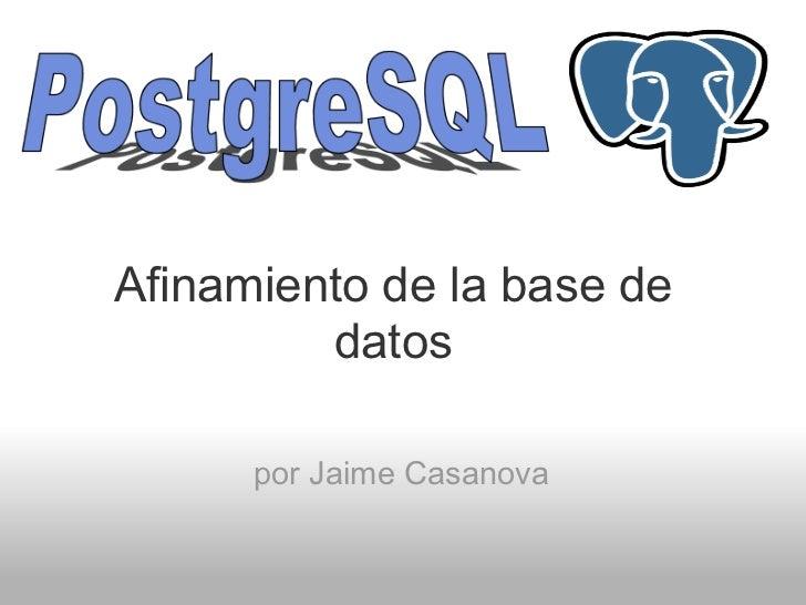 Afinamiento de la_base_de_datos