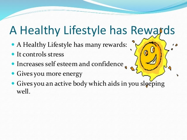 benefit of healthy lifestyle essay