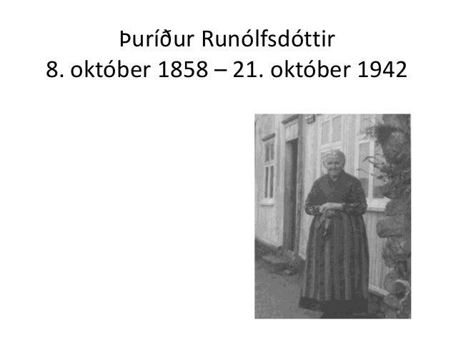 Afkomendur Þuríðar: Kynning á ættarmóti
