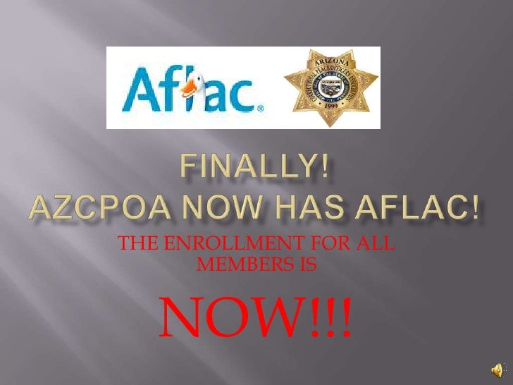 Aflac for azcpoa with sound