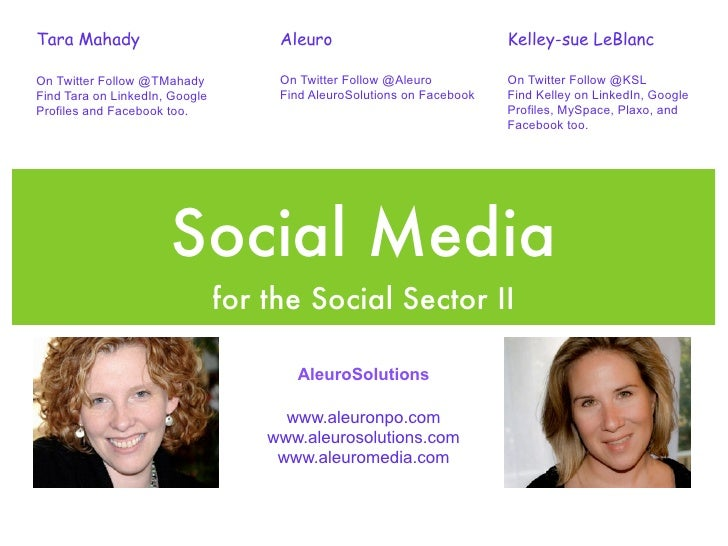 """Sharing Your Social, the Four P's and ABC's of Social Media"" - Association of Fundraising Professionals"