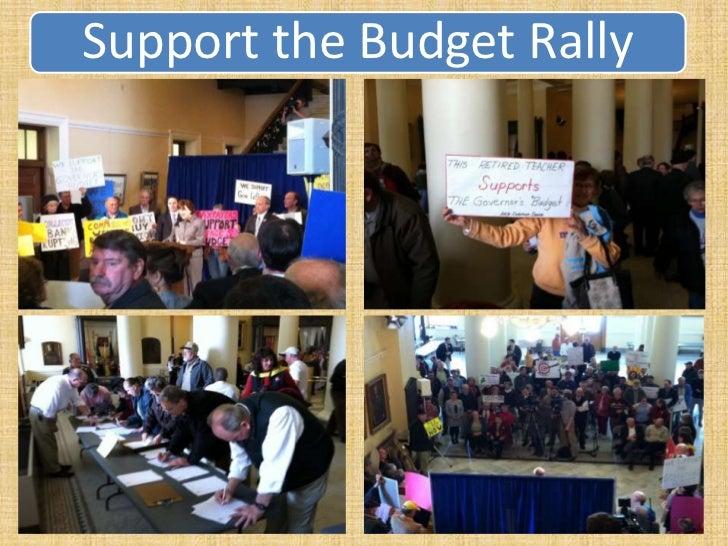 Afp northeast   carol weston budget-rally