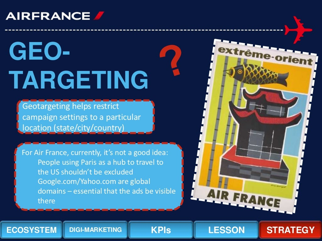 air france internet marketing case study Microsoft customer stories see how microsoft tools help companies run their business.