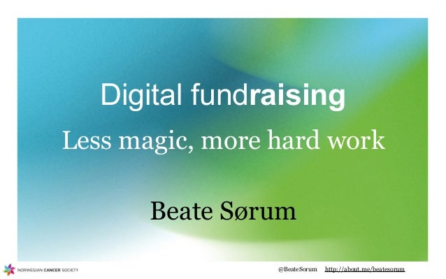 AFP Toronto: Digital fundraising, less magic more hard work